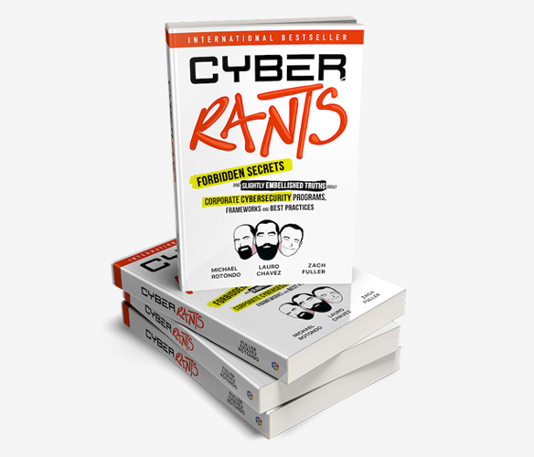 Stack of Cyber Rants Books