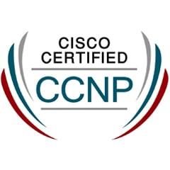 Cisco Certified CCNP Logo
